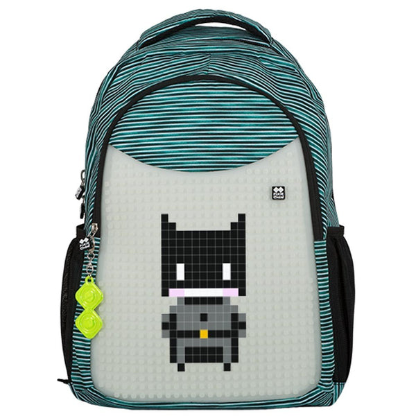 Turquoise - Glows in the dark School Bag