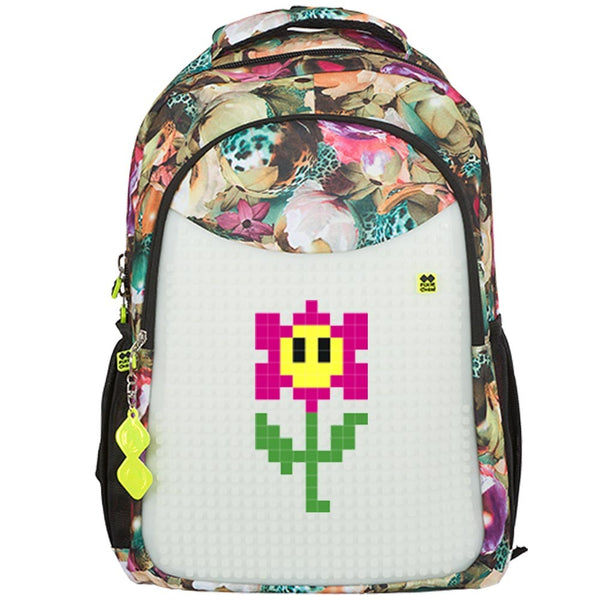 Flower - Glows in the dark School Bag