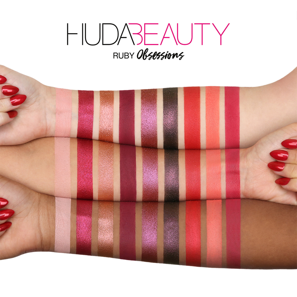 Paleta Huda Beauty Ruby