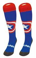 Hingly Hockey Socks American Shield - American Shield on a blue sock