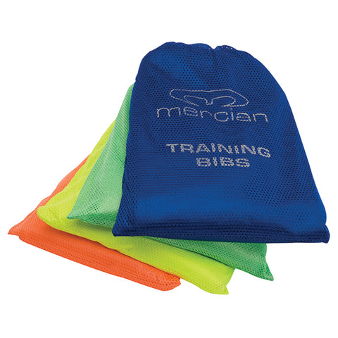 Set of 12 Mercian Mesh Bibs Senior