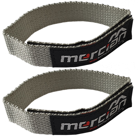 Mercian Deflector finger loops - Grey Nylon