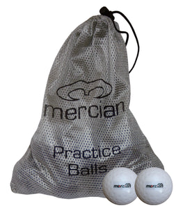 12 Mercian Dimple Practice Balls in a bag