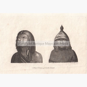 A Man & Woman Of Nootka Sound 1801 Prints