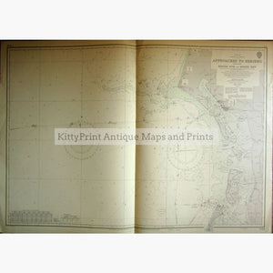 Antique Map Approaches to Esbjerg 1964 Maps