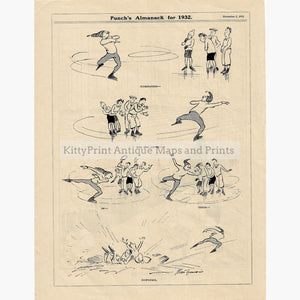 Antique Print Admiration Downfall 1932 Prints