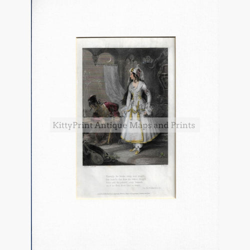 Antique Print Fancy Costume c.1840 Prints