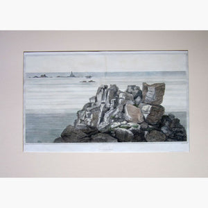 Antique Print Lands End 1814 Prints