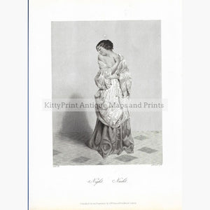 Antique Print Night c.1860 Prints