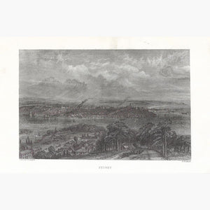 Antique Print Sydney 1865 Prints
