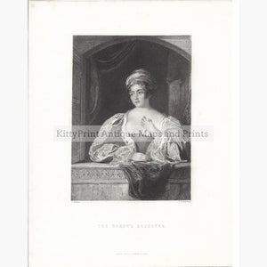 Antique Print The Barons Daughter c.1840 Prints