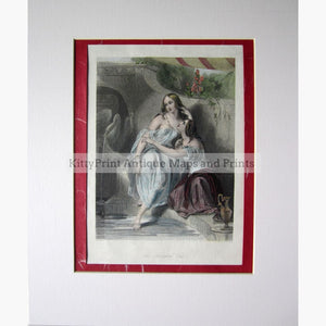 Antique Print The Favoured One c.1830 Prints