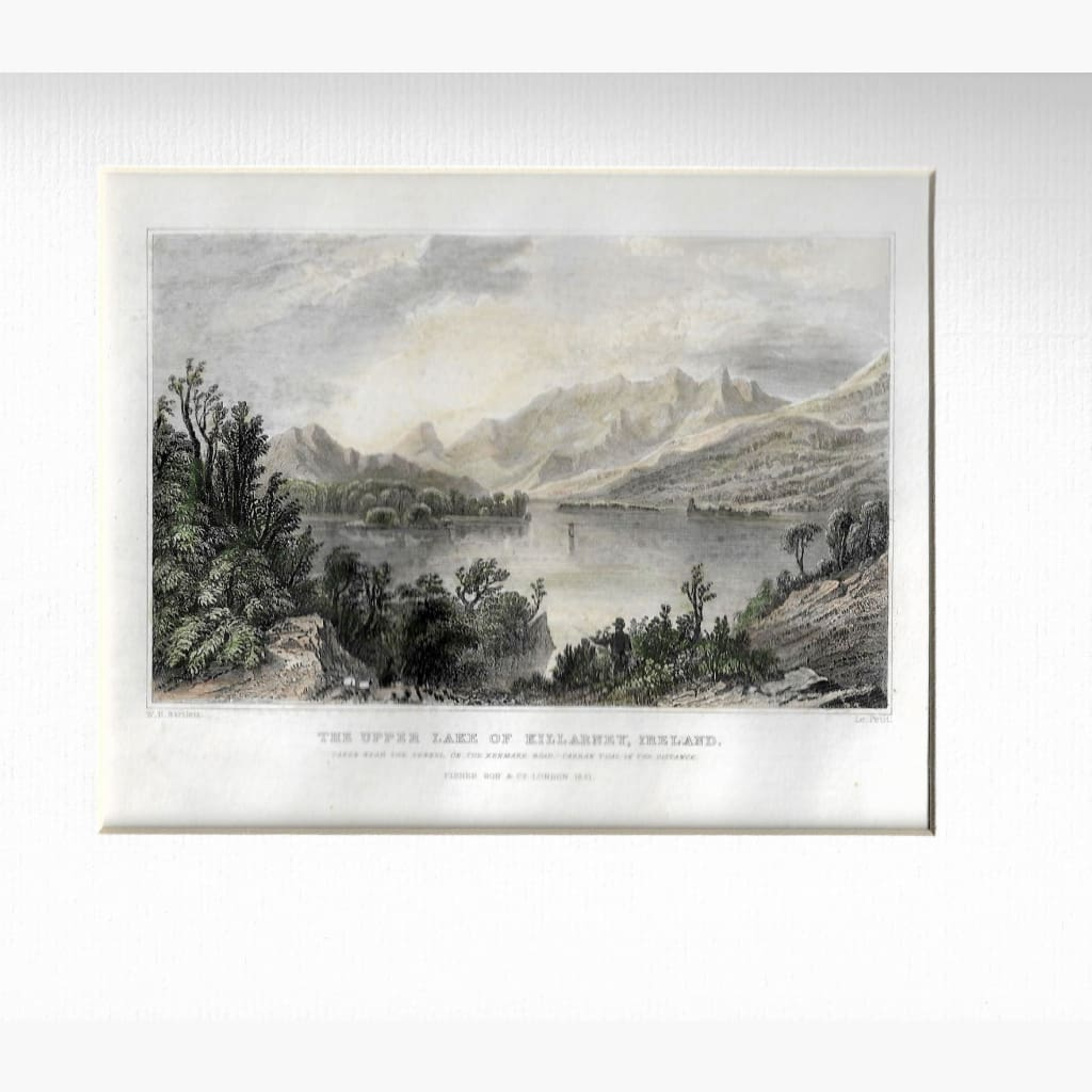 Antique Print The Upper Lake Of Killarney 1831 Prints