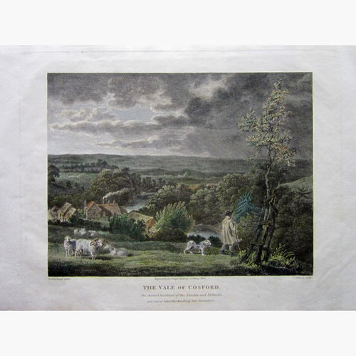 Antique Print The Vale of Cosford 1812 Prints