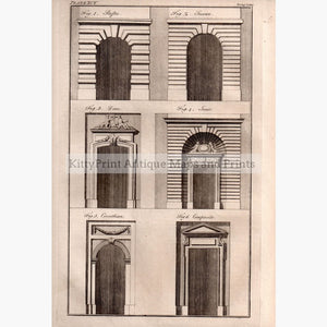 Architecture Doors 1779 Prints