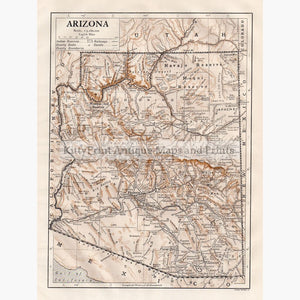 Arizona 1910 Maps