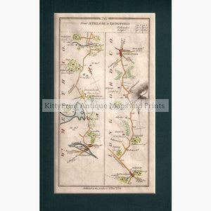 Athlone To Longford 1778 Maps
