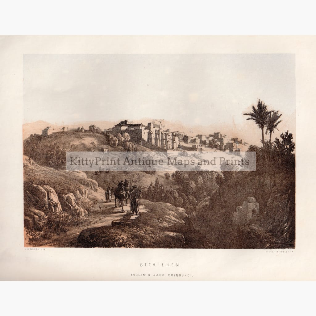 Bethlehem C.1850 Kittyprint Prints