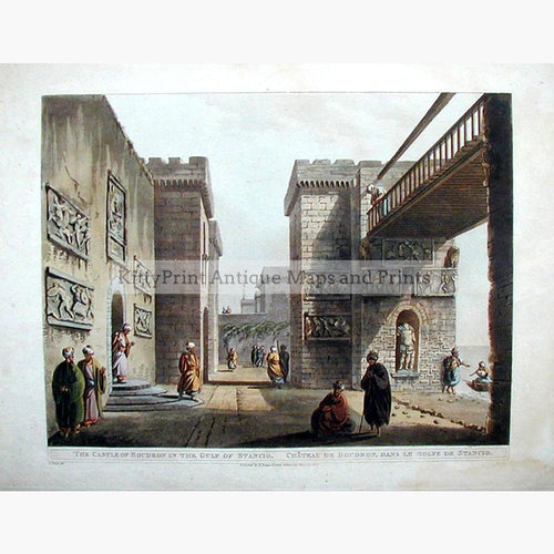Boudron 1803 Prints KittyPrint 1800s Castles & Historical Buildings Ottoman Turkey & Persia