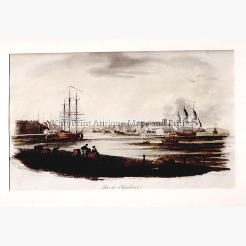 Brest Harbour 1802 Prints