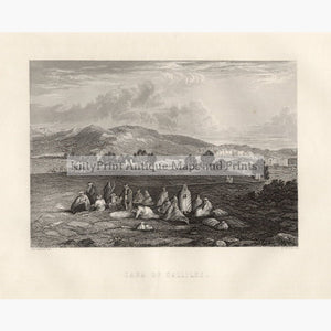 Cana of Gallilee c. 1860 Prints KittyPrint 1800s Holy Land Landscapes