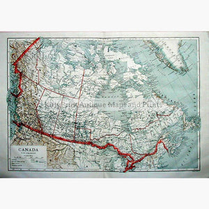 Canada United States Maps KittyPrint