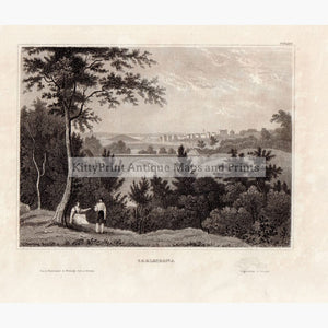 Carlscrona Sweden 1840 Kittyprint Prints