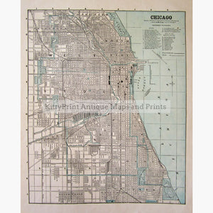 Chicago C.1890 Maps