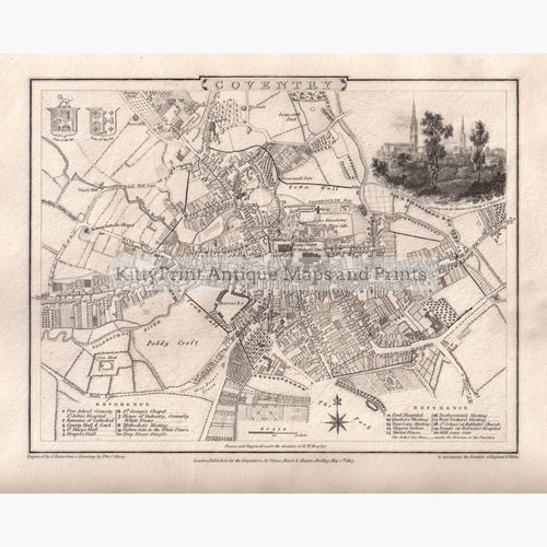 Coventry 1807 Maps