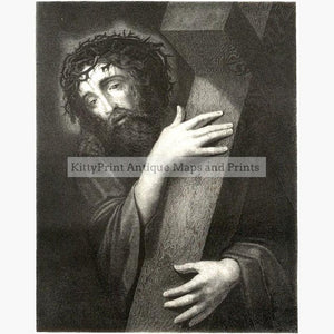 Ecce Homo c.1880 Prints KittyPrint 1800s Religion