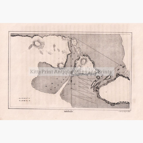 Elizabeth Harbour 1834 Maps