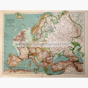 Europe 1910 Maps KittyPrint 1900s Europe Regional Maps Road Rail & Engineering