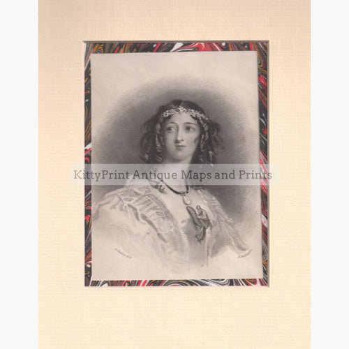 Flora Mac Ivor 1834 Prints