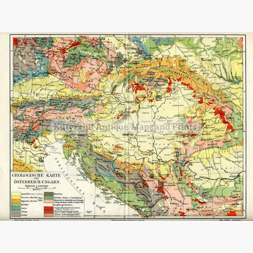 Maps Of The S KittyPrint - Map of austria hungary 1900 1907