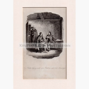 Guy Fawkes Keeping Watch On Tresham And Lord Mounteagle 1840 Prints