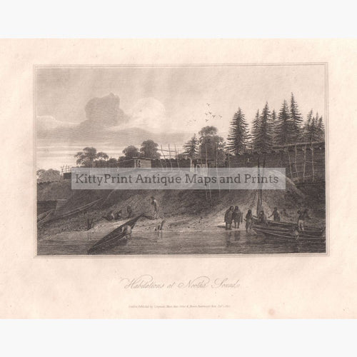 Habitations At Nootka Sound 1812 Prints