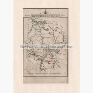 Huntingdonshire 1792 Maps