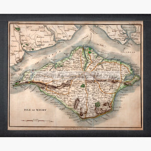 Isle Of Wight 1817 Maps
