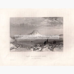 Lady Melvilles Lake And Dundas Mountain 1834 Prints