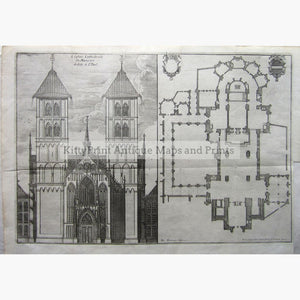 Leglise Cathedrale De Munster Dedice A St.paul. 1724 Prints
