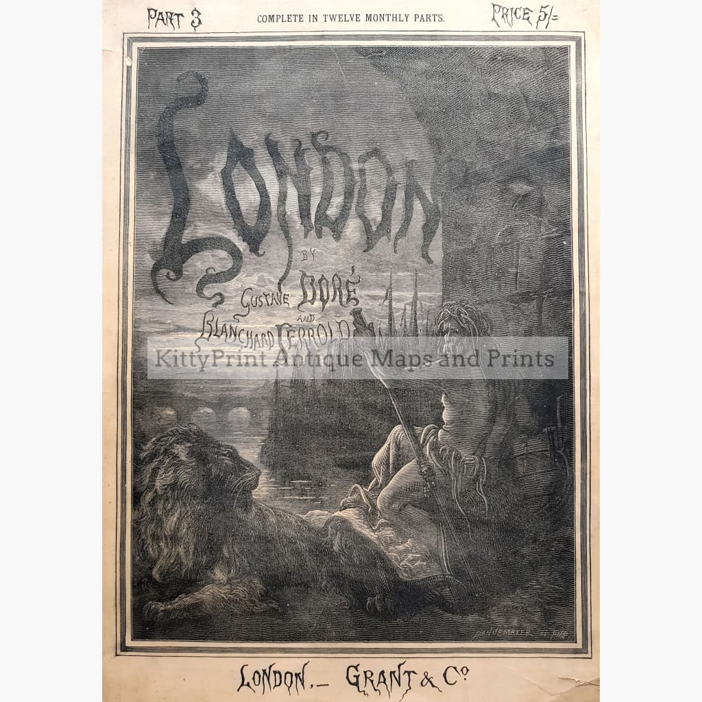 London By Gustave Dore 1872 Prints