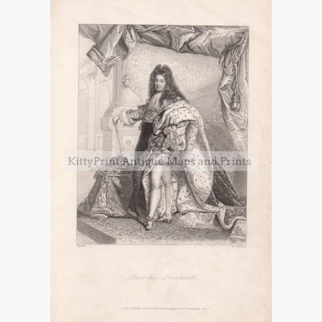 Louis The Fourteenth 1839. Prints