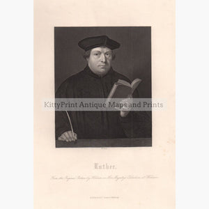 Luther C.1850 Prints