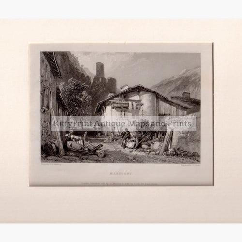 Martigny 1833 Kittyprint Prints