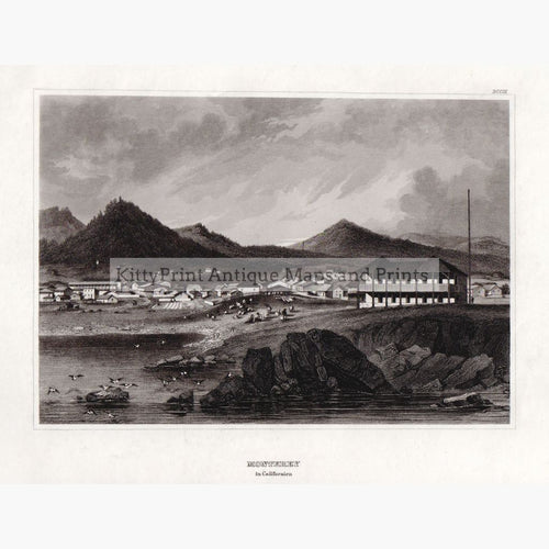 Monterey In California 1859 Prints