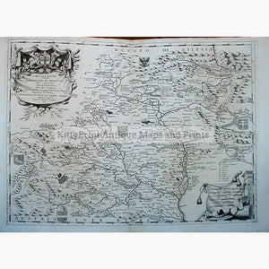 Moravia Marchesato De Moravia 1690 Maps KittyPrint 1600s Eastern Europe