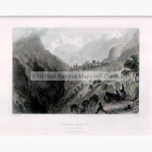 Mount Cervin 1836 Prints KittyPrint 1800s Landscapes Switzerland