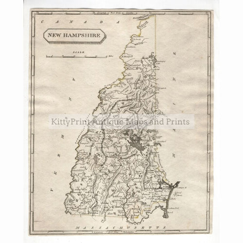New Hampshire 1812 Maps