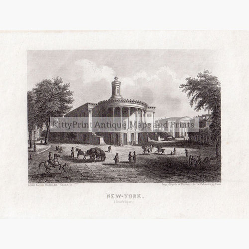 New-York  C.1855 Prints