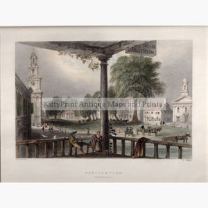 Northampton Massachusetts 1839 Prints